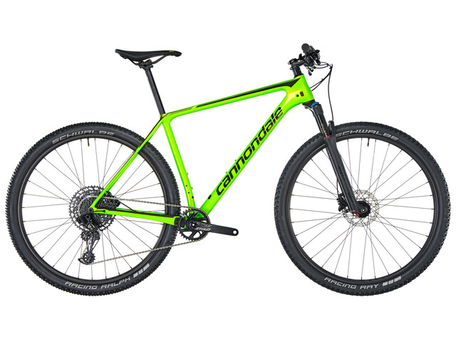 "Cannondale F-Si Carbon 5 29"" GRN"